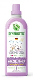 """Synergetic"" Биоразлагаемый кондиционер-ополаскиватель для белья SYNERGETIC: лавандовое поле, 1л."