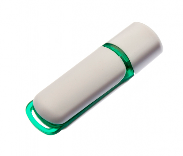 16GB USB3.0-флэш накопитель UsbSouvenir 235, белая-зеленая
