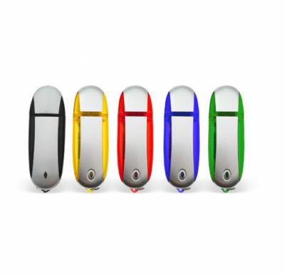 32GB USB-флэш корпус для флешки UsbSouvenir U204, Черный  серебро