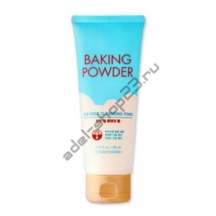 ETUDE HOUSE - Пенка с содой для удаления ББ-крема Baking Powder BB Deep Cleansing Foam 160ml