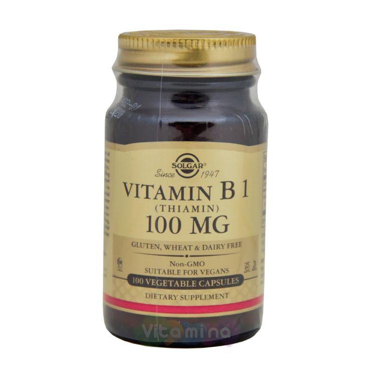 Солгар Витамин Б1 (Тиамин) 100 мг