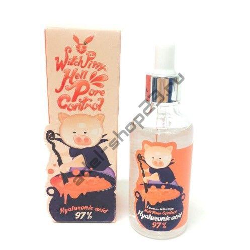 ELIZAVECCA - Сыворотка с гиалуроновой кислотой Witch Piggy Hell Pore Control Hyaluronic Acid 97% 50ml
