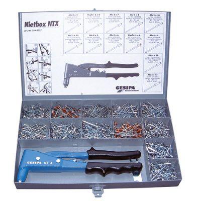 Заклепочник GESIPA NTX BOX KIT