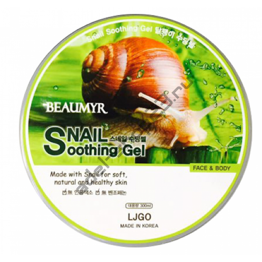 "LJGO - Увлажняющий гель ""Juno Sangtumeori Snail"" 300 ml"