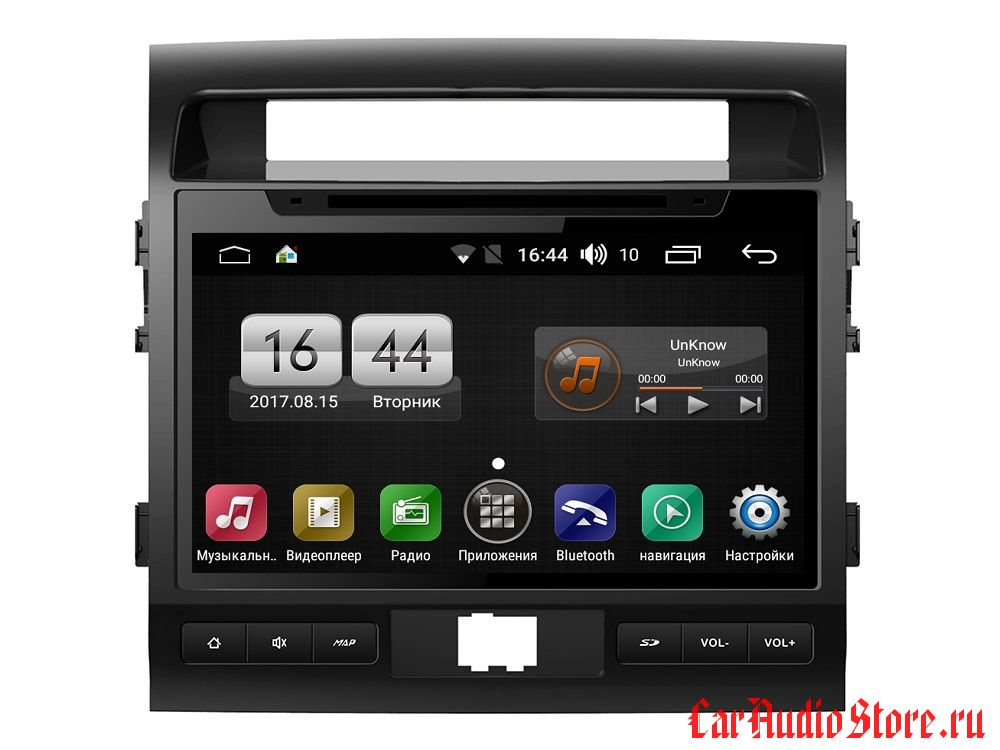 FarCar s170 для Toyota Land Cruiser 200 на Android (L381) (L381BS)