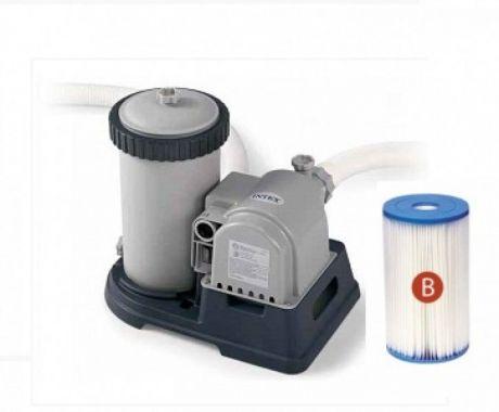Картриджный фильтр насос Intex 28634, мощностью 9 463 л/ч