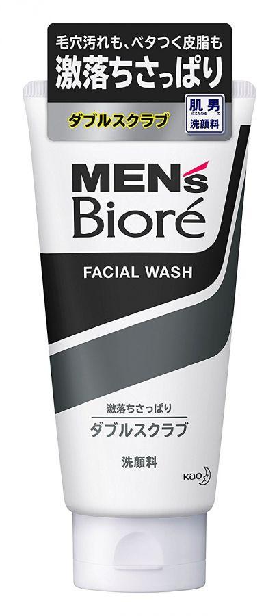 Пенка-скраб для глубокого очищения лица Men's Biore, 130 гр.