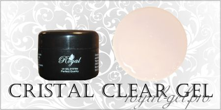 CRISTAL CLEAR ROYAL GEL 50 мл
