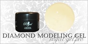 MODELING DIAMOND ROYAL GEL 250 гр