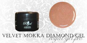 VELVET MOKKA DIAMOND  ROYAL GEL 250 гр
