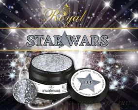 SW01 STAR WARS ROYAL гель краска 5 мл.