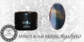 MM03 Royal MISTIC MAGNITO гель краска 5 мл.