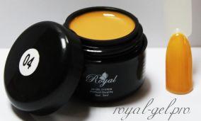 GP04 Royal PARFUME гель цветной 5 мл.