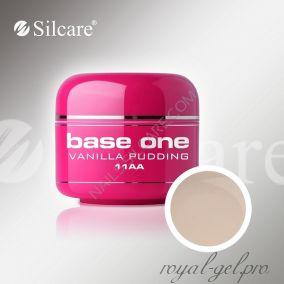 Цветной гель Silcare Base One Color Vanilla Pudding *11AA 5 гр.