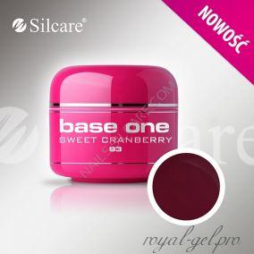 Цветной гель Silcare Base One Color Sweet Cranberry *93 5 гр.