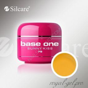 Цветной гель Silcare Base One Color Sunny Kiss *79 5 гр.