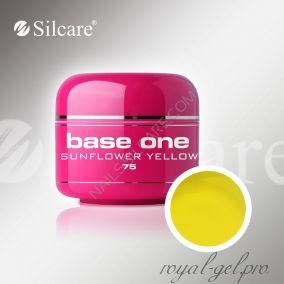 Цветной гель Silcare Base One Color Sunflower Yellow *75 5 гр.