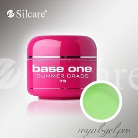 Цветной гель Silcare Base One Color Summer Grass *73 5 гр.