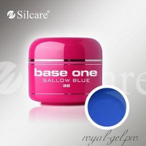 Цветной гель Silcare Base One Color Sallow Blue *32 5 гр.