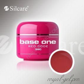 Цветной гель Silcare Base One Color Red Code *36C 5 гр.