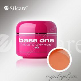 Цветной гель Silcare Base One Color Magic Orange *50 5 гр.