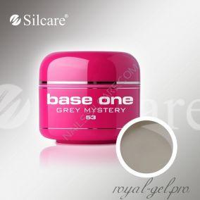 Цветной гель Silcare Base One Color Grey Mistery *53 5 гр.