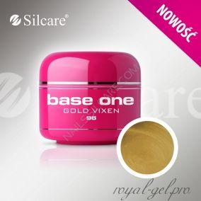 Цветной гель Silcare Base One Color Gold Vixen *96 5 гр.