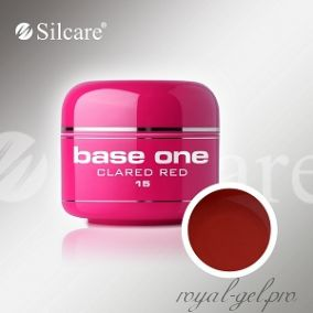 Цветной гель Silcare Base One Color Clared Red *15 5 гр.