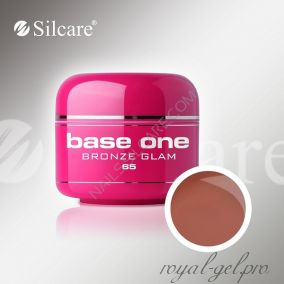 Цветной гель Silcare Base One Color Bronze Glam *65 5 гр.