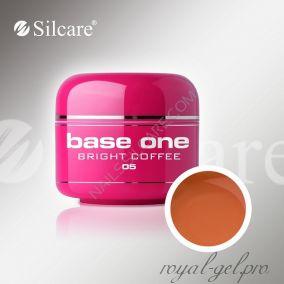 Цветной гель Silcare Base One Color Bright Coffee *05 5 гр.