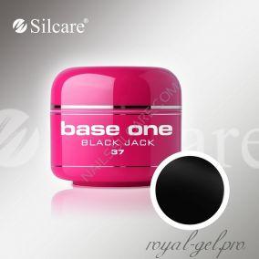 Цветной гель Silcare Base One Color Black Jack *37 5 гр.