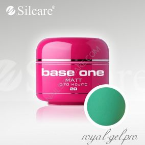 Цветной гель Silcare Base One Matt Cito Mojito *20 5 гр.