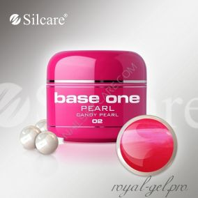 Цветной гель Silcare Base One Pearl CandyPearl *02 5 гр.