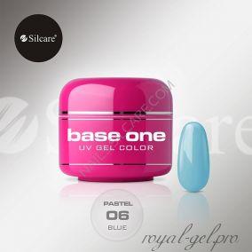 Цветной гель Silcare Base One Pastel Blue *06 5 гр.
