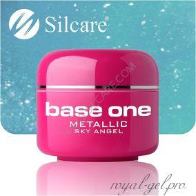 Цветной гель Silcare Base One Metallic Sky Angel *21 5 гр.