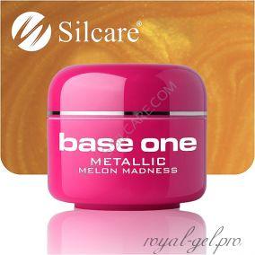 Цветной гель Silcare Base One Metallic Melon Madness *26 5 гр.