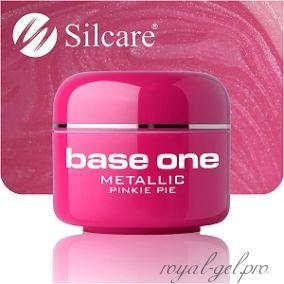 Цветной гель Silcare Base One Metallic Pinky Pie *34 5 гр.