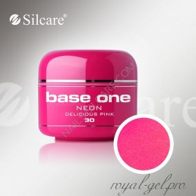 Цветной гель Silcare Base One Neon Delicious Pink *30 5 гр.