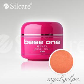 Цветной гель Silcare Base One Pixel Peach Skin *03 5 гр.