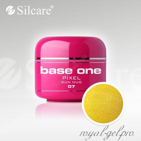 Цветной гель Silcare Base One Pixel Sun Huq *07 5 гр.