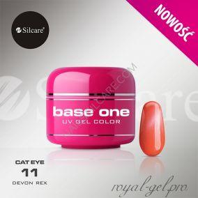 Цветной гель Silcare Base One Cat Eye Dewon Rex *11 5 гр.