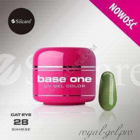 Цветной гель Silcare Base One Cat Eye Siamese *28 5 гр.