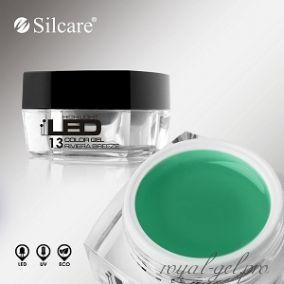 Цветной гель Silcare High Light Led Color Clear Riviera Breeze *13 4 гр.
