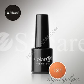 Гель лак Silcare Hybryd Color`IT 8 гр №121
