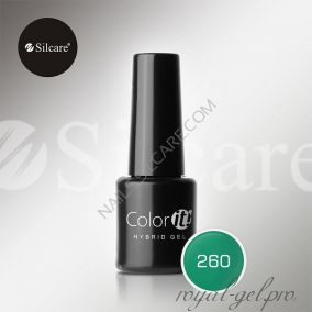 Гель лак Silcare Hybryd Color`IT 8 гр №260