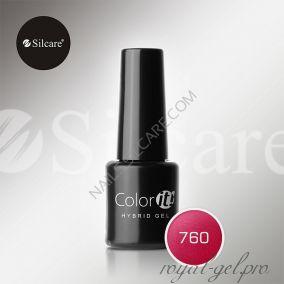 Гель лак Silcare Hybryd Color`IT 8 гр №760