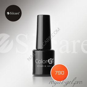 Гель лак Silcare Hybryd Color`IT 8 гр №790