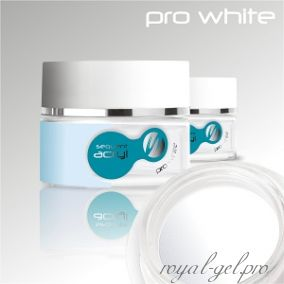 Акриловая пудра Sequent LUX Pro White Silcare 72 гр