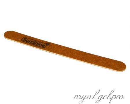 """Пилочка """"Овал"""" на деревянной основе 100/180 гритт"""