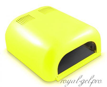 UV лампа ZH-230 36W глянцевая (цвет жёлтый)